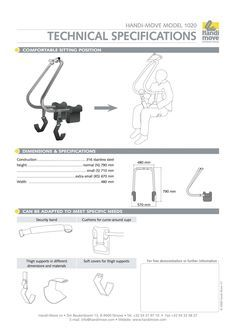 Body Support Specification Sheet Assisted Pull Ups