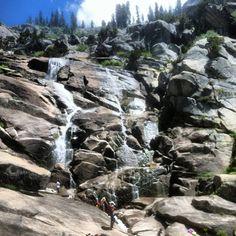 Tokopah Falls. Sequoia National Park, CA.
