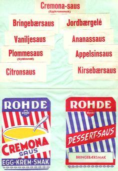 Rohdes dessertsauser