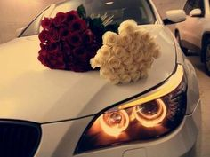 BMW and roses, two of my favorite things :)