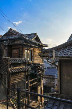 Old hause, Onomichi, Hiroshima, Japan