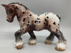 handmade & custom glazed earthenware hairy draft horse Foam Packaging, Sculptures, Lion Sculpture, Franklin Mint, Draft Horses, Wooden Background, Royal Doulton, Glazed Ceramic, Earthenware