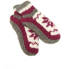 ReLuxe Fair Trade Knitted Sock Boots Pattern