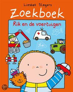 Zoekboek Rik en de voertuigen Big Red Bus, Books For Boys, Children, Kids, Transportation, Kindergarten, Comics, Illustration, Character
