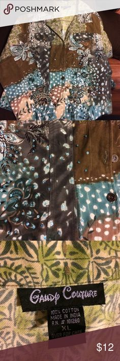 Candy Couture light weight button up jacket Perfect condition 💥 candy couture Jackets & Coats Jean Jackets