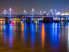 Views From London's Golden Jubilee Bridge