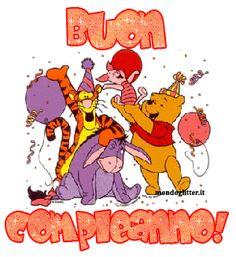 Winnie de Pooh vi augura un Buon Compleanno