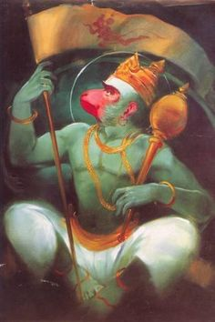 Hanuman with a flag off his own. Hanuman Hd Wallpaper, Lord Hanuman Wallpapers, Om Namah Shivaya, Hanuman Images, Hanuman Chalisa, Spiritual Images, Shiva Shakti, Durga Goddess, God Pictures