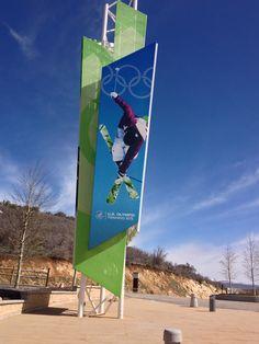 Olympic Park. Park City Utah
