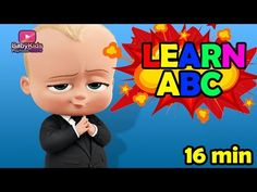 Just in: Boss baby intro - Alphabet learn mixed collection - Abc song - Boss Baby kids playhouse  https://youtube.com/watch?v=UQUK-bTqQeU