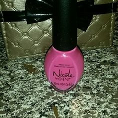 """** Brand new**Nicole by opi Pink polish brand new called"""" Something about spring"""" nicole by opi Makeup"""