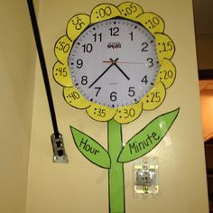 I did this in my classroom on Friday! Super cute and super easy! I really think it will help the students with time.