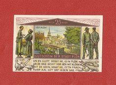 Germany Notgeld 25 pfennig 1921 Schleswig Holstein Plon #14