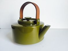 Vintage Michael LAX Copco Teapot Kettle  by BrocanteBedStuyHOMME