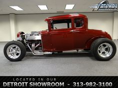 1931 Ford Model A 5 Window Coupe  - Stock #26-DET