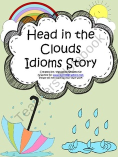 Head In The Clouds Story  - Pinned by @PediaStaff – Please Visit ht.ly/63sNtfor all our pediatric therapy pins