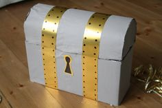 DIY Handmade treasure chest.