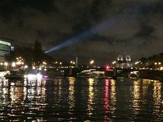 Paris from sena river