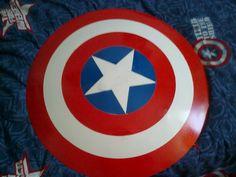 Escudo de Capitan America echo por mi - Taringa!