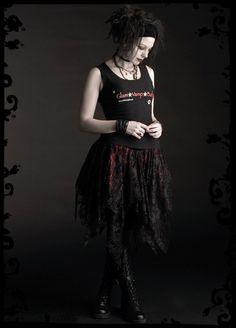 cf7c5d75e6b Isabella Romantic Gothic Vampire Skirt Handmade to Measure Bespoke Fairy  Tale - Dark Romantic Couture by Rose Mortem
