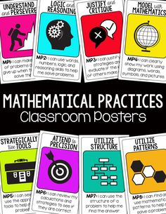 Common Core Mathematical Practices. Free posters!