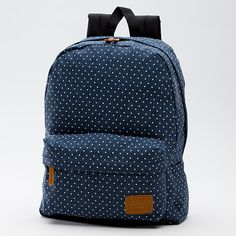 Vans Product: Deana Backpack / blue with white polka dots CLICK THE PIC and Learn how you can EARN MONEY while still having fun on Pinterest