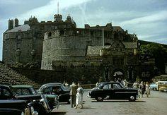 1955-07 Castle Esplanade, Edinburgh, Scotland