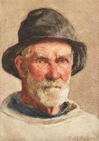 A cup of tea, Frederick James McNamara Evans