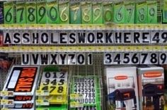 This looks like a pic taken in Wal-Mart, in which case, it may be completely factual - but [most especially low level] Wal-Mart employees have every right in the damn world to be assholes, in my humble opinion. What a nightmare that place has become to even SHOP at - I can't imagine ever working there, & most especially around the holidays. Mega-props to all those employed by satan's playground who are still somehow able to maintain a friendly, pleasant air. I always wonder if those…
