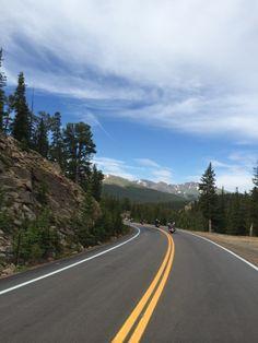 Mt Evans road
