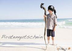 Originelle Maritime Geschenkgutscheine Pirates, Gifts
