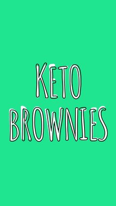These are my GO-TO Brownies if I am on the KETO train or not.  They are super fudgy and rich making each bite seem super decadant all the while only have 2 net Carbs per brownie.  Yes, you read that right... only 2 net Carbs per brownie...trust me you need to make these ASAP!