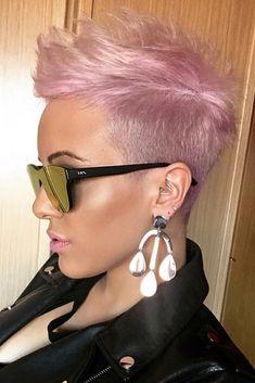 Pixie Hair Cut For Thin Hair #pixiehairstyles #pixiecut #shorthair #hairstyles #rosehair