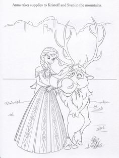 Official Frozen Illustrations (Coloring Pages)