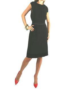 FENDI Black Sleeveless Open Back Dress. 44 $650.00  http://www.boutiqueon57.com/products/fendi-black-sleeveless-open-back-dress-44