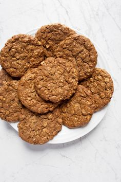 1 Bowl, just 8 ingredients Vegan Gluten-free Chai Coconut Oatmeal Cookies infused with a blend of chai spices, oats, coconut, cashew butter & almond butter! Incredibly chewy with crispy edges and are also dairy-free and oil-free.
