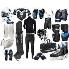 """Hockey Uniform"" by eappah on Polyvore"