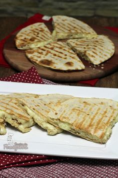 Quesadillas de Frango com Rap10