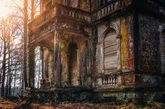Pacie Learns of an Old Forgotten Mansion Near Town