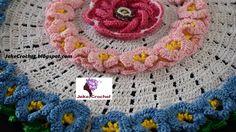 Tapete Jardín Floral 1era parte 🌺🌺 paso a paso - crochet- ganchillo - un...