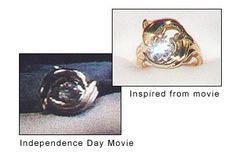 Independence Day Movie Dolphin Ring
