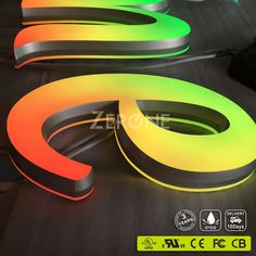 Outdoor waterproof advertising sign led channel letter,high bright alphabet letter, View channel letter, ZERONE Product Details from Enping Zero One LED Signage Co., Ltd. on Alibaba.com