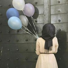 Hijab pictures on one place. Beautiful pictures of hijabies. Hijabi Girl, Girl Hijab, Hijab Outfit, Muslim Girls, Muslim Women, Hijab Dpz, Its A Girl Balloons, Hijab Collection, Hijab Fashionista
