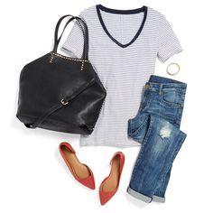 Like this top and bag.
