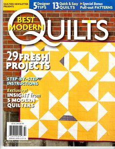 Quilters Newsletter Presents Best of Modern Quilts 2014 Book Crafts, Craft Books, Fire And Ice, Easy Quilts, Quilt Patterns, Writing, Projects, Design, Blog