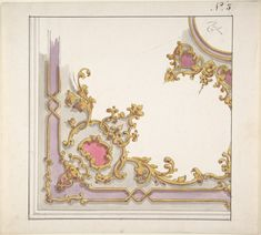 Design for a Ceiling Decoration (1850–70)