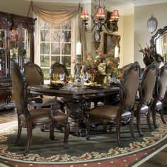 Chandeliers interior design furniture dining rooms mirror wallpaper .