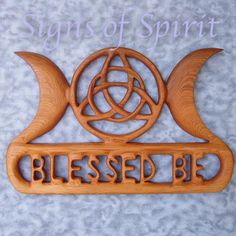 Triquetra Triple Moon Blessed Be-Wiccan Greeting-Celtic Moon Goddess Wiccan Symbols, Spiritual Symbols, Celtic Symbols, Celtic Goddess, Moon Goddess, Wiccan Altar, Love Spell That Work, Triple Moon, Thing 1