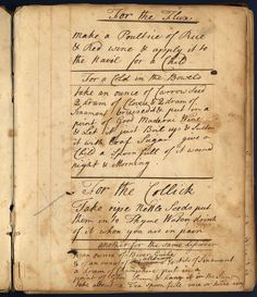 """18th century healing """"receipts"""" which Claire might have used!  #TheCopia #beyondthebook"""