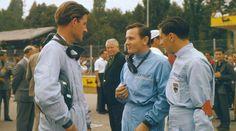 Graham Hill,Bruce Mclaren and Jim Clark